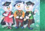 Вітаємо випускників вищих навчальних закладів