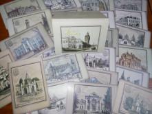 """Набір з 23-ох листівок """"Старий Житомир"""""""