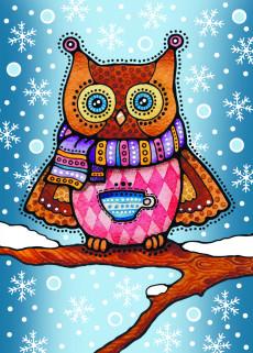 Зимова сова